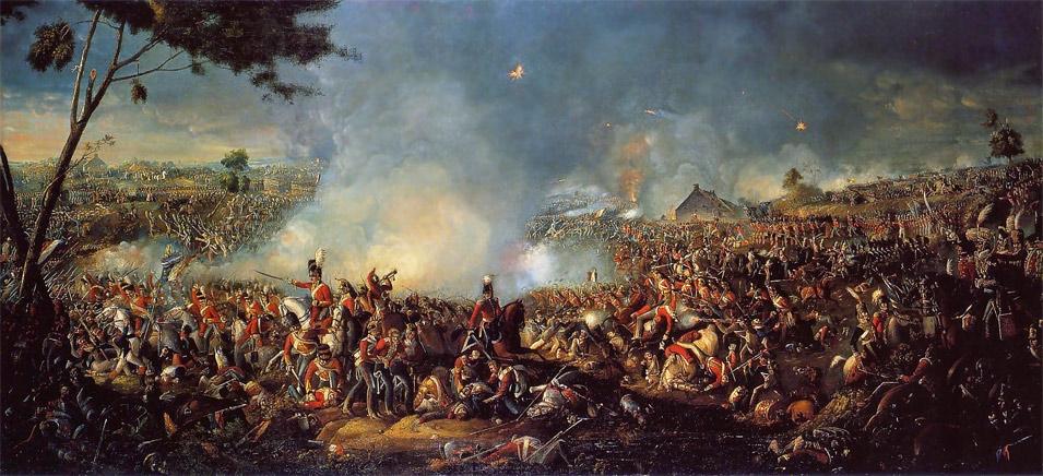 Battle of Waterloo 1815 by William Sadler II