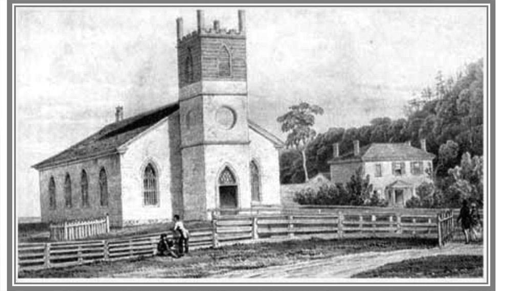 John Pepper Downes' sketch 1847 from The Settler's Dream